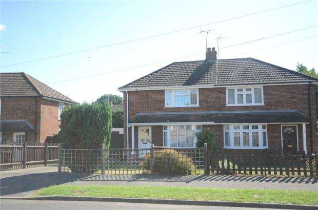 3 Bedrooms Semi Detached House for sale in Ashbury Drive, Tilehurst, Reading