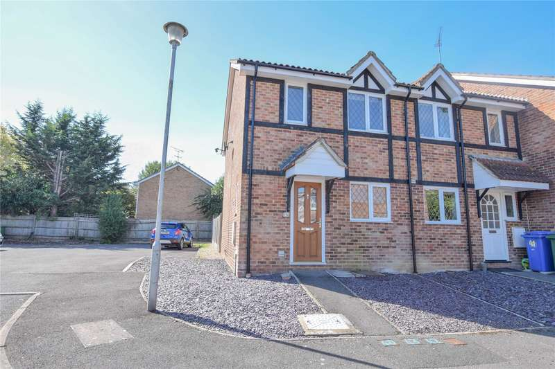 3 Bedrooms End Of Terrace House for sale in Statham Court, Bracknell, Berkshire, RG42