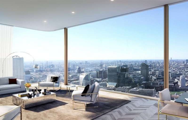 3 Bedrooms Penthouse Flat for sale in Principal Tower, 2 Principal Place, Worship Street, London, EC2A