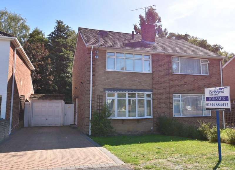 3 Bedrooms Semi Detached House for sale in PRINCE ANDREW WAY, ASCOT SL5
