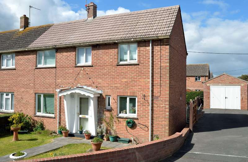 2 Bedrooms Semi Detached House for sale in 22 Hill View, Bishops Caundle, Sherborne, Dorset, DT9 5NH