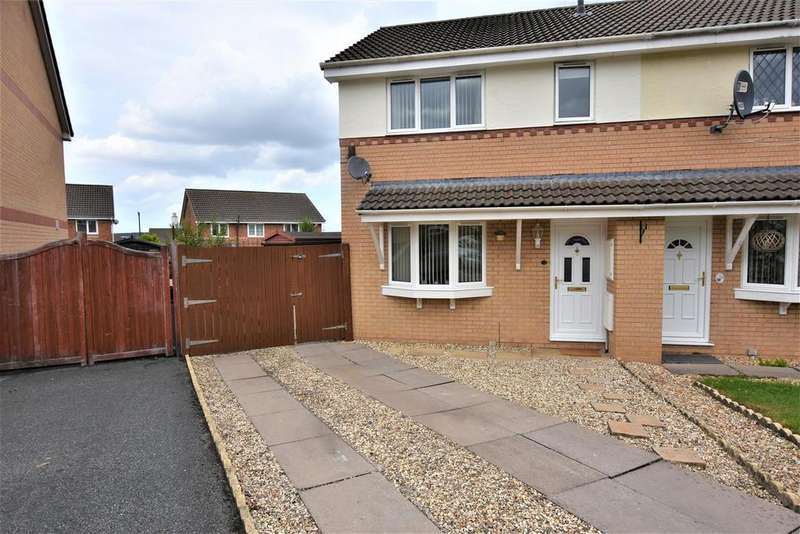 3 Bedrooms Semi Detached House for sale in Monet Close, Connah's Quay, Deeside