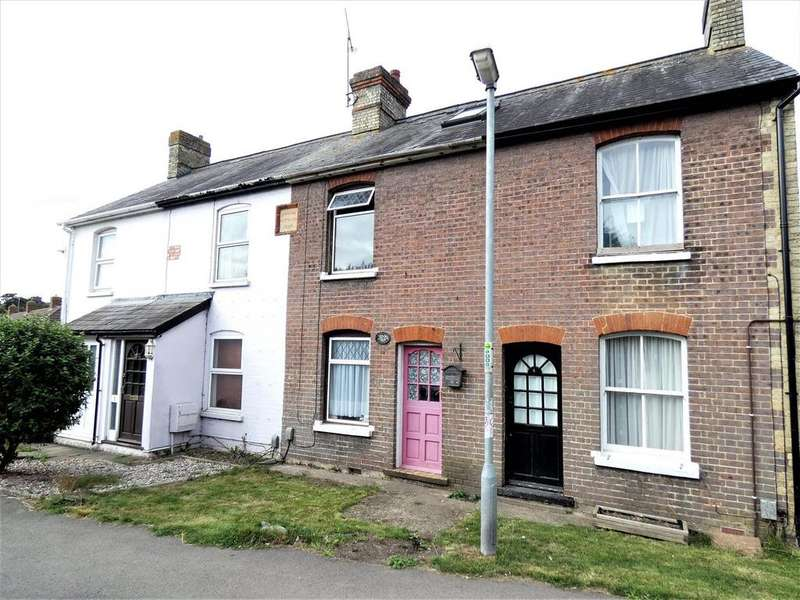2 Bedrooms Cottage House for sale in Adelaide Cottages, Goswell End Road, Harlington