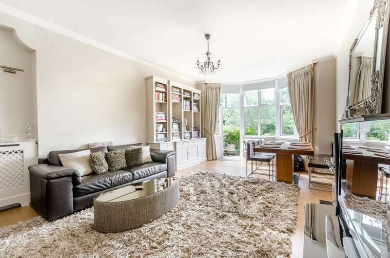 2 Bedrooms Flat for sale in Burghley Road, Wimbledon Village, SW19