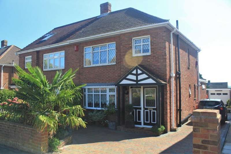 3 Bedrooms Semi Detached House for sale in Laverock Lea, Portchester