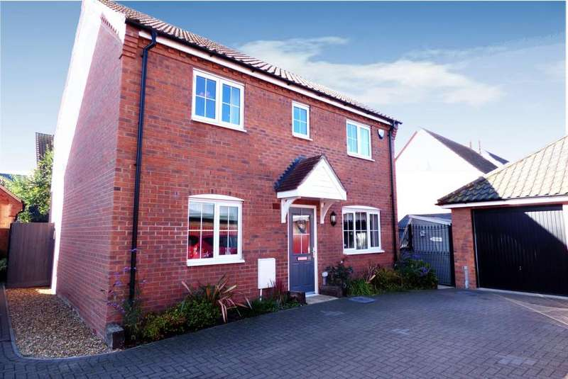 4 Bedrooms Detached House for sale in Mendham Lane, IP20