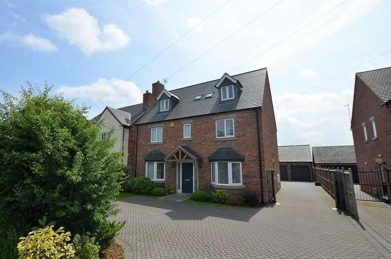 5 Bedrooms Detached House for sale in Rykneld Road, Littleover, Derby