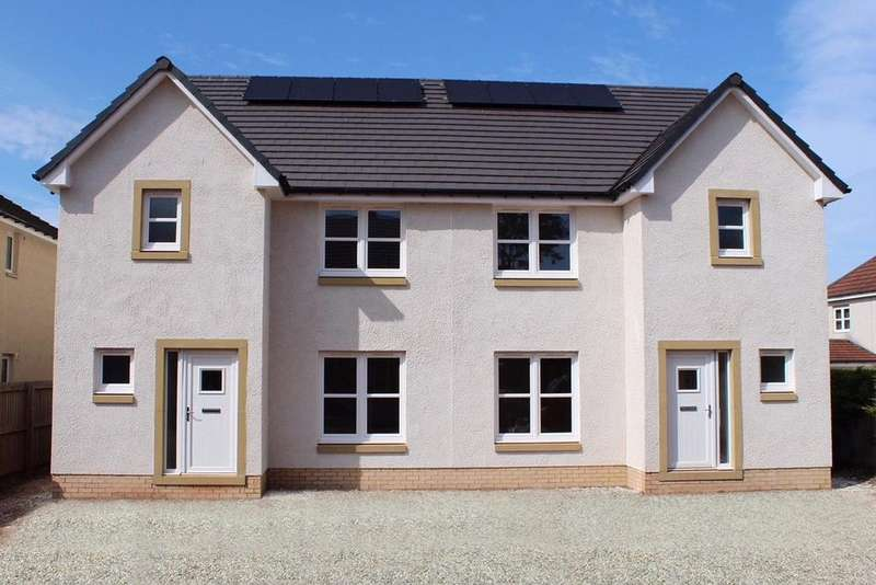 3 Bedrooms Semi Detached House for sale in House 2 Rotary Court, Off Kellie Road, Dunbar, East Lothian, EH42
