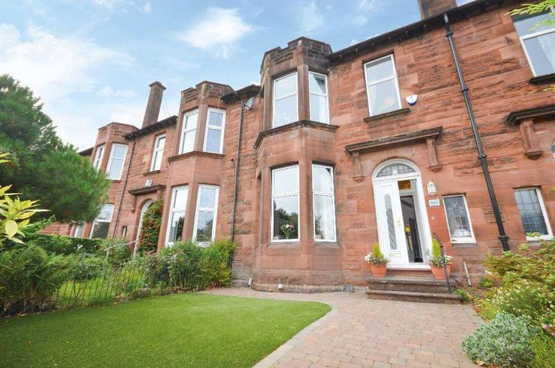 3 Bedrooms Terraced House for sale in Kilmarnock Road, Newlands, Glasgow, G43 2RL