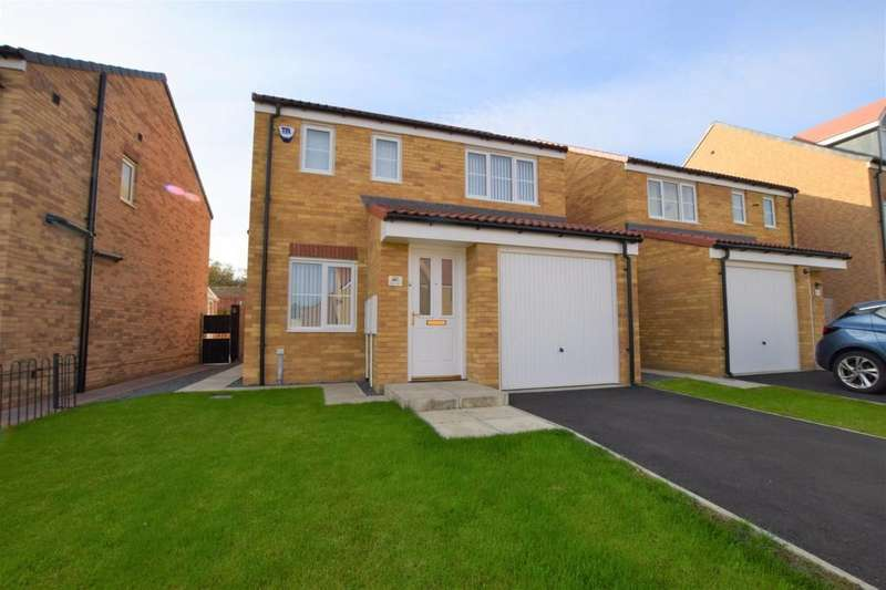 3 Bedrooms Detached House for sale in Kielder Drive, The Middles, Stanley