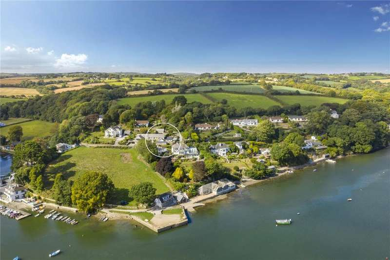 5 Bedrooms Semi Detached House for sale in Port Navas, North Helford, Near Falmouth, South Cornwall, TR11