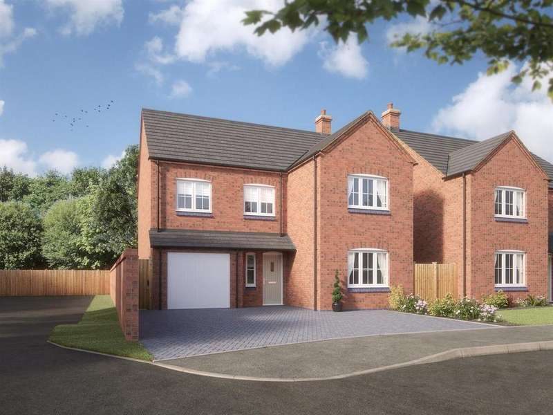4 Bedrooms Detached House for sale in Lutterworth Road, Blaby, Leicester