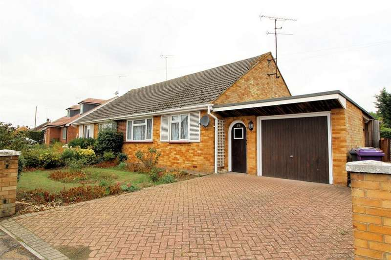 2 Bedrooms Semi Detached Bungalow for sale in Oakfield Avenue, HITCHIN, Hertfordshire