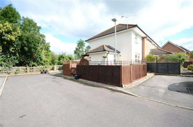 1 Bedroom End Of Terrace House for sale in Donaldson Way, Woodley, Reading