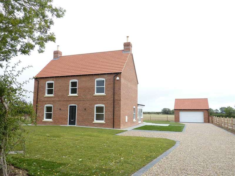 4 Bedrooms Detached House for sale in NEW HOUSE, NEWBRIDGE LANE, COVENHAM ST MARY, LOUTH