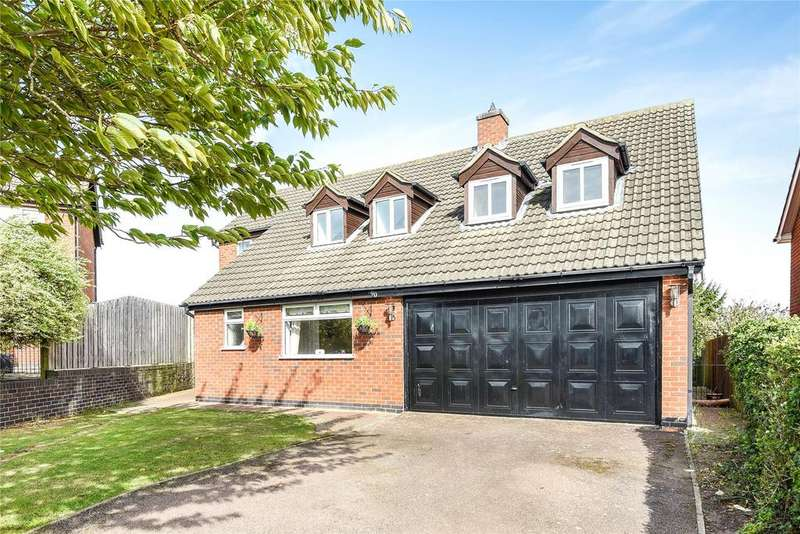 5 Bedrooms Detached House for sale in Stephenson Avenue, Gonerby Hill Foot, NG31
