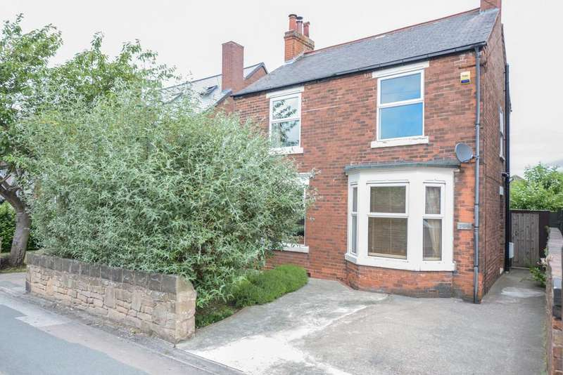 3 Bedrooms Detached House for sale in Hasland Road, Hasland, Chesterfield