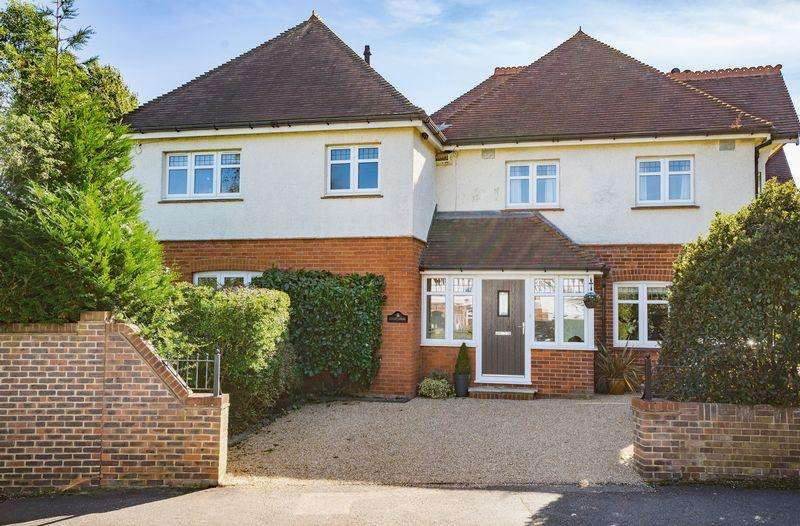 5 Bedrooms Detached House for sale in Chestnut Avenue, Southborough