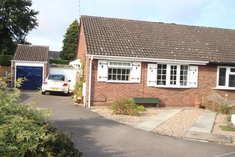 2 Bedrooms Semi Detached Bungalow for sale in Sycamore close, Burbage