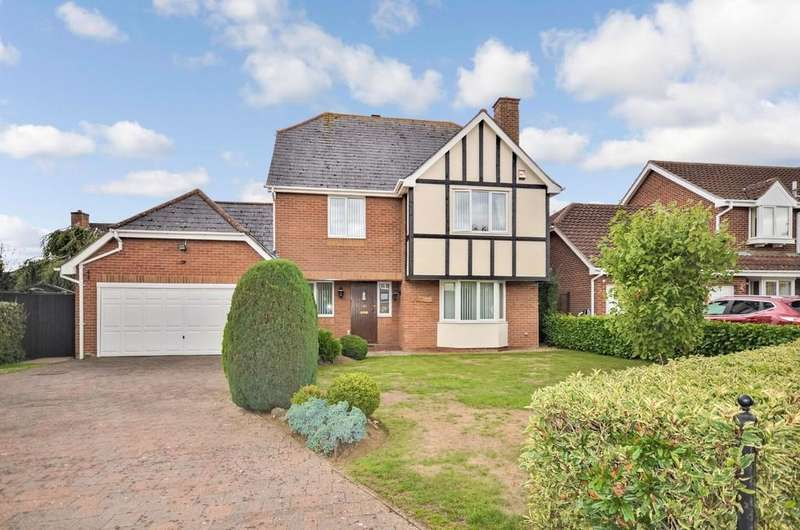 4 Bedrooms Detached House for sale in Queensberry Avenue, Copford, CO6 1YN