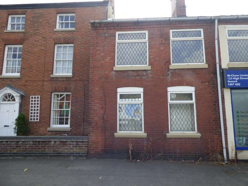 2 Bedrooms Terraced House for sale in High Street, Ibstock LE67