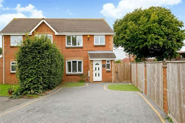 3 Bedrooms Semi Detached House for sale in Gaunts Close, Portishead, Bristol