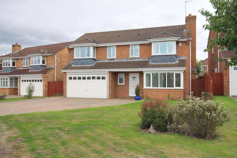 5 Bedrooms Detached House for sale in Bradman Drive, Chester Le Street, DH3