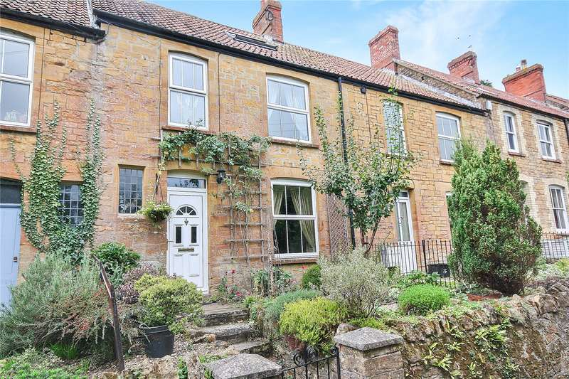 4 Bedrooms Terraced House for sale in Shyners Terrace, Merriott, Somerset, TA16
