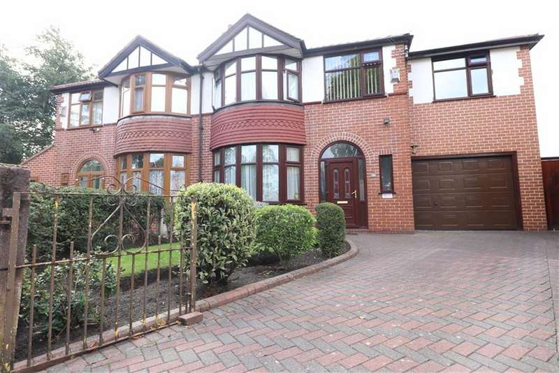 4 Bedrooms Semi Detached House for sale in Henley Avenue, Firswood, Trafford, M16