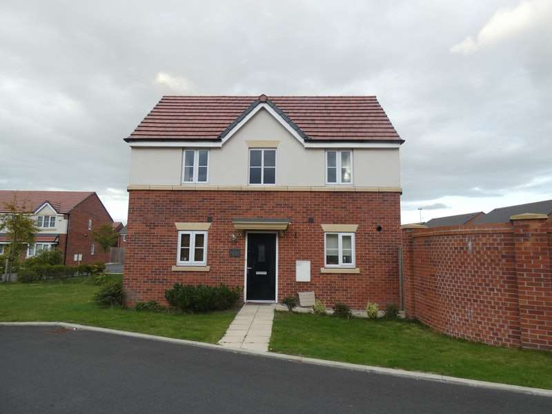 3 Bedrooms Detached House for sale in Ericsson Drive, Liverpool, Merseyside, L14