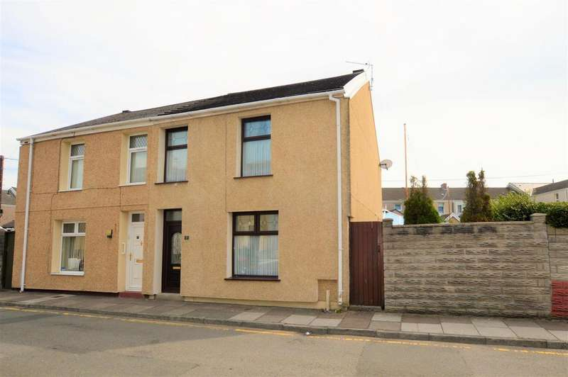3 Bedrooms Semi Detached House for sale in Elizabeth Street, Llanelli