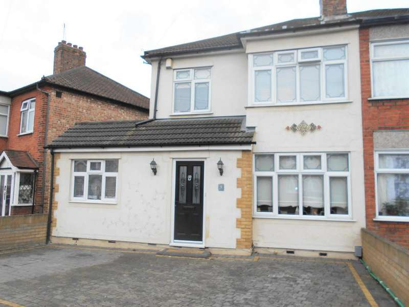 4 Bedrooms Semi Detached House for sale in Norwood Avenue, Rush Green RM7