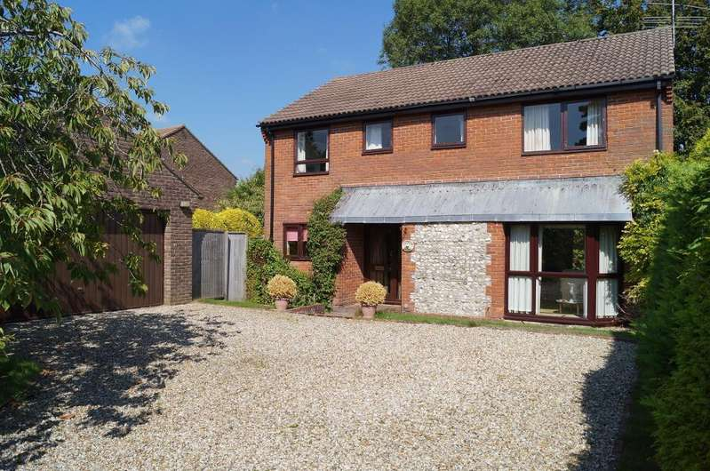 4 Bedrooms Detached House for sale in Clivedale Gardens, Steyning, West Sussex, BN44 3HA