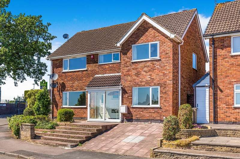 4 Bedrooms Detached House for sale in Harefield Avenue, Leicester, LE3