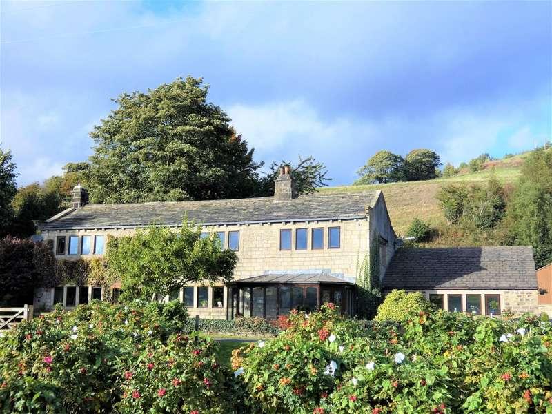 "3 Bedrooms Semi Detached House for sale in 'Souter Farmhouse"",Burlees Lane, Hebden Bridge, HX7"