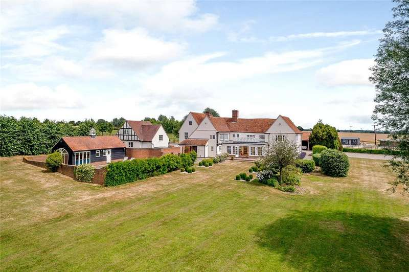 6 Bedrooms Detached House for sale in Culverts Lane, Near Little Baddow, Chelmsford