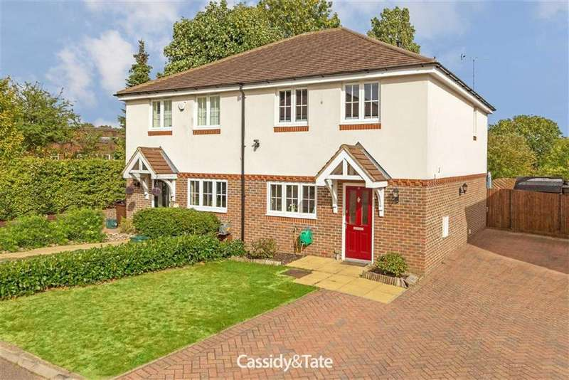 3 Bedrooms Semi Detached House for sale in Merlot Mews, St Albans, Hertfordshire