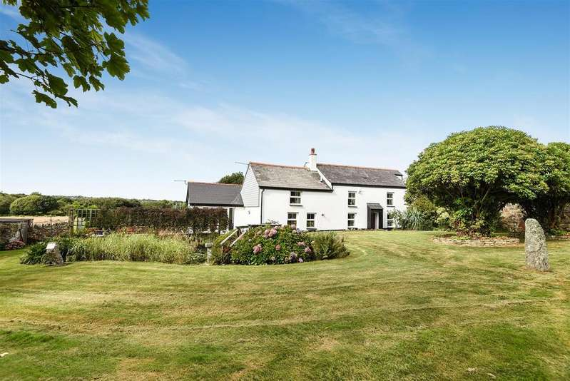 4 Bedrooms Smallholding Commercial for sale in Greenbottom, Chacewater, Truro