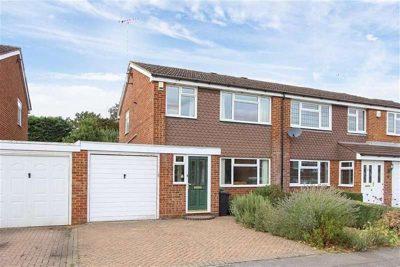 3 Bedrooms Semi Detached House for sale in Grange Close, Linslade