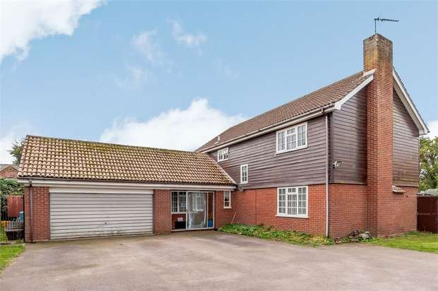 4 Bedrooms Detached House for sale in Southwold Road, Wrentham, Beccles, Suffolk