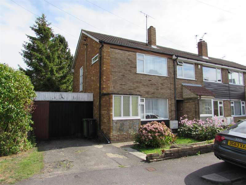 2 Bedrooms End Of Terrace House for sale in Rosewood Close, Luton