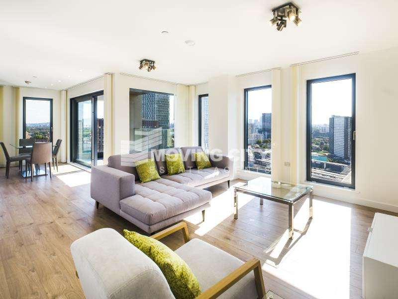 2 Bedrooms Flat for sale in Legacy Tower, 88 Great Eastern Road, Stratford, E15