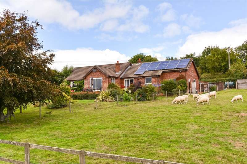 3 Bedrooms Detached Bungalow for sale in Black Dog, Crediton, Devon, EX17
