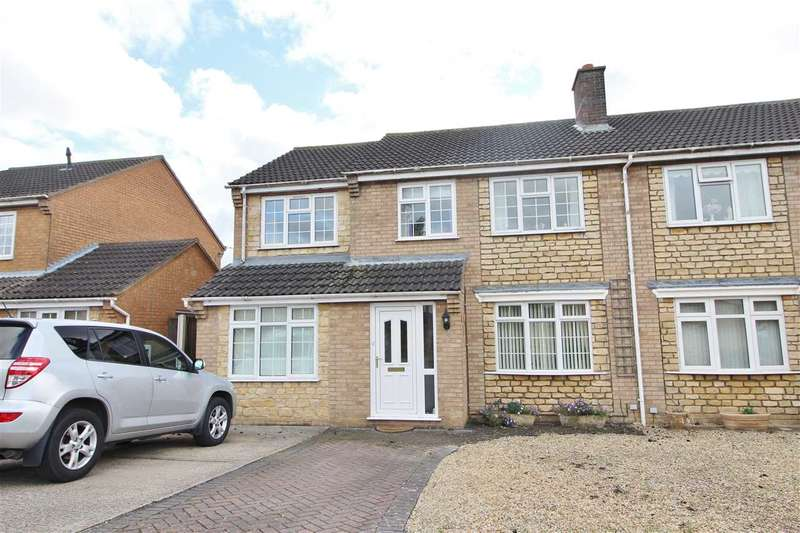 4 Bedrooms Semi Detached House for sale in Pasture Close, Colsterworth, Grantham