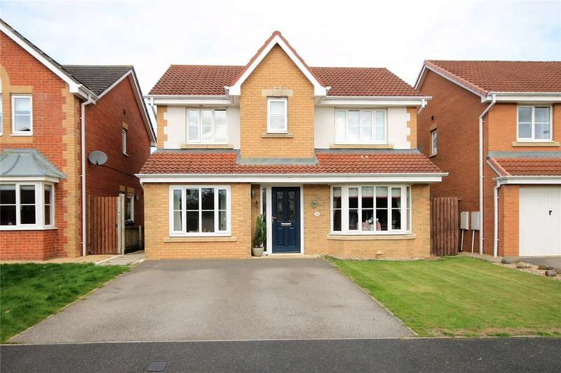 4 Bedrooms Detached House for sale in Cotherstone Close, Templetown, Consett, DH8