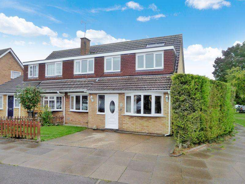 4 Bedrooms Semi Detached House for sale in Weatherby, Dunstable