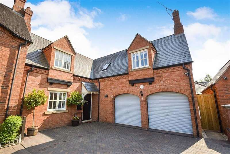 4 Bedrooms Detached House for sale in Main Street, Kirby Muxloe, Leicester