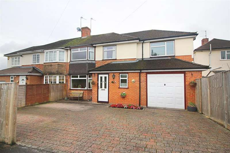 4 Bedrooms Semi Detached House for sale in Chiltern Road, Caversham, Reading