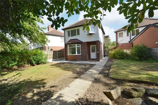 3 Bedrooms Detached House for sale in Bramhall Lane, Davenport, Stockport, Cheshire