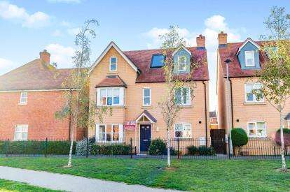 5 Bedrooms Detached House for sale in Pascal Close, Duston, Northamptonshire, Na